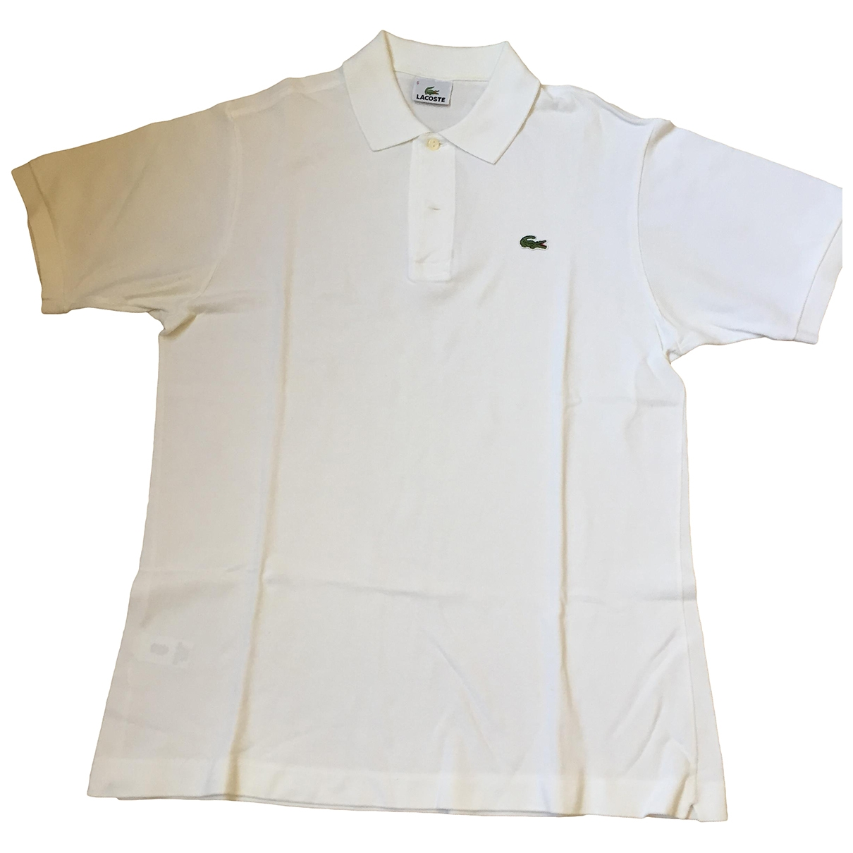 Lacoste \N White Polo shirts for Men L International
