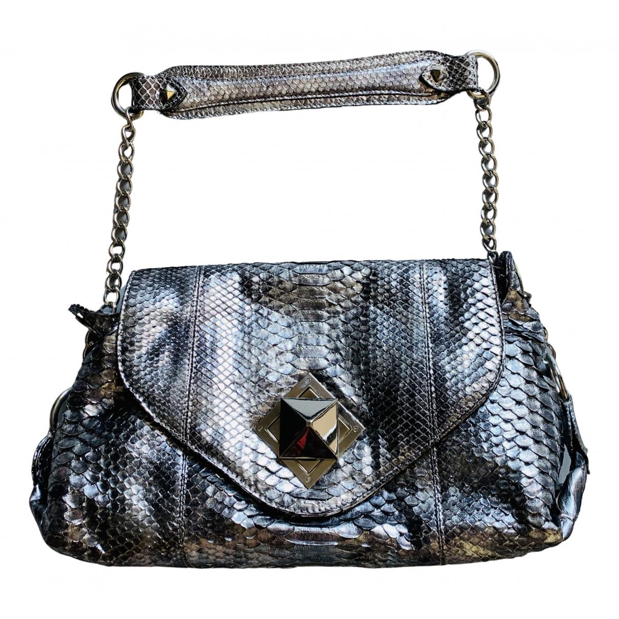 Sonia Rykiel \N Handtasche in  Grau Python