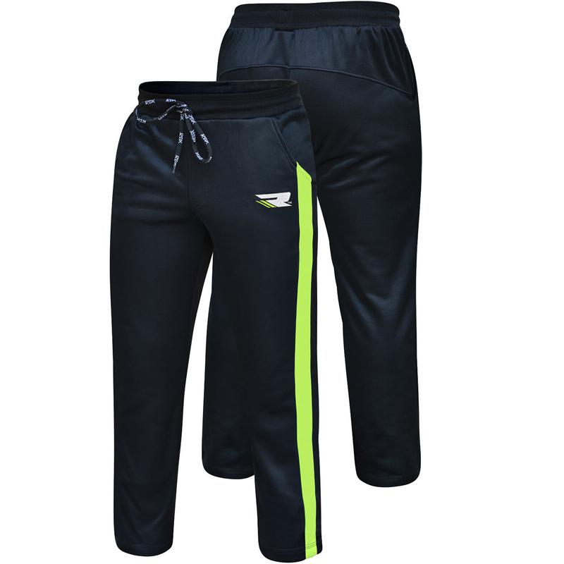 RDX 1BG Fleece Pantalon de Sport Moyenne Vert noir Terry Fleece