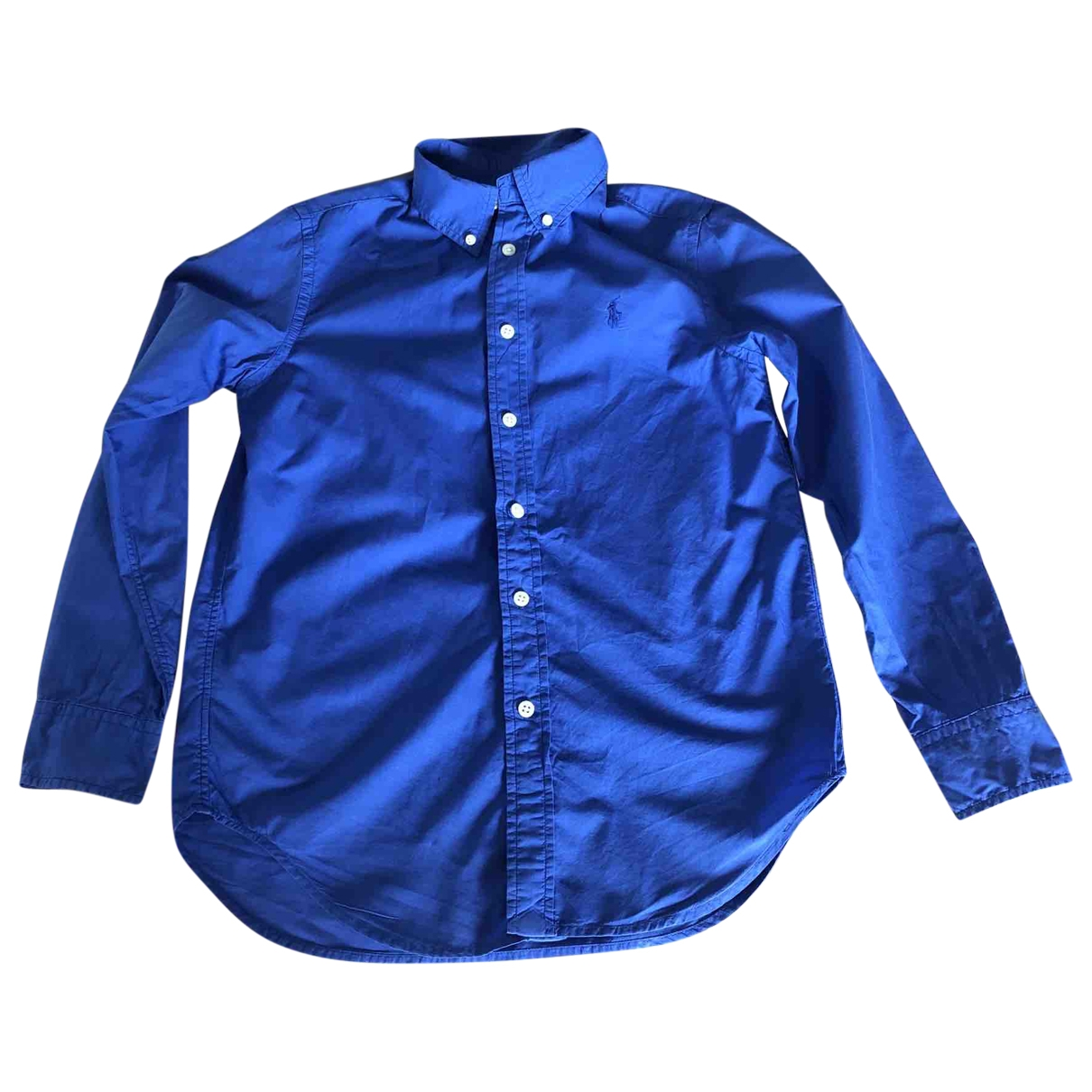 Ralph Lauren \N Blue Cotton  top for Kids 12 years - XS FR