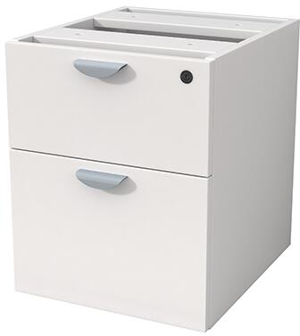 N108-WT 2 Hanging Pedestal  In 3/4 Box/File