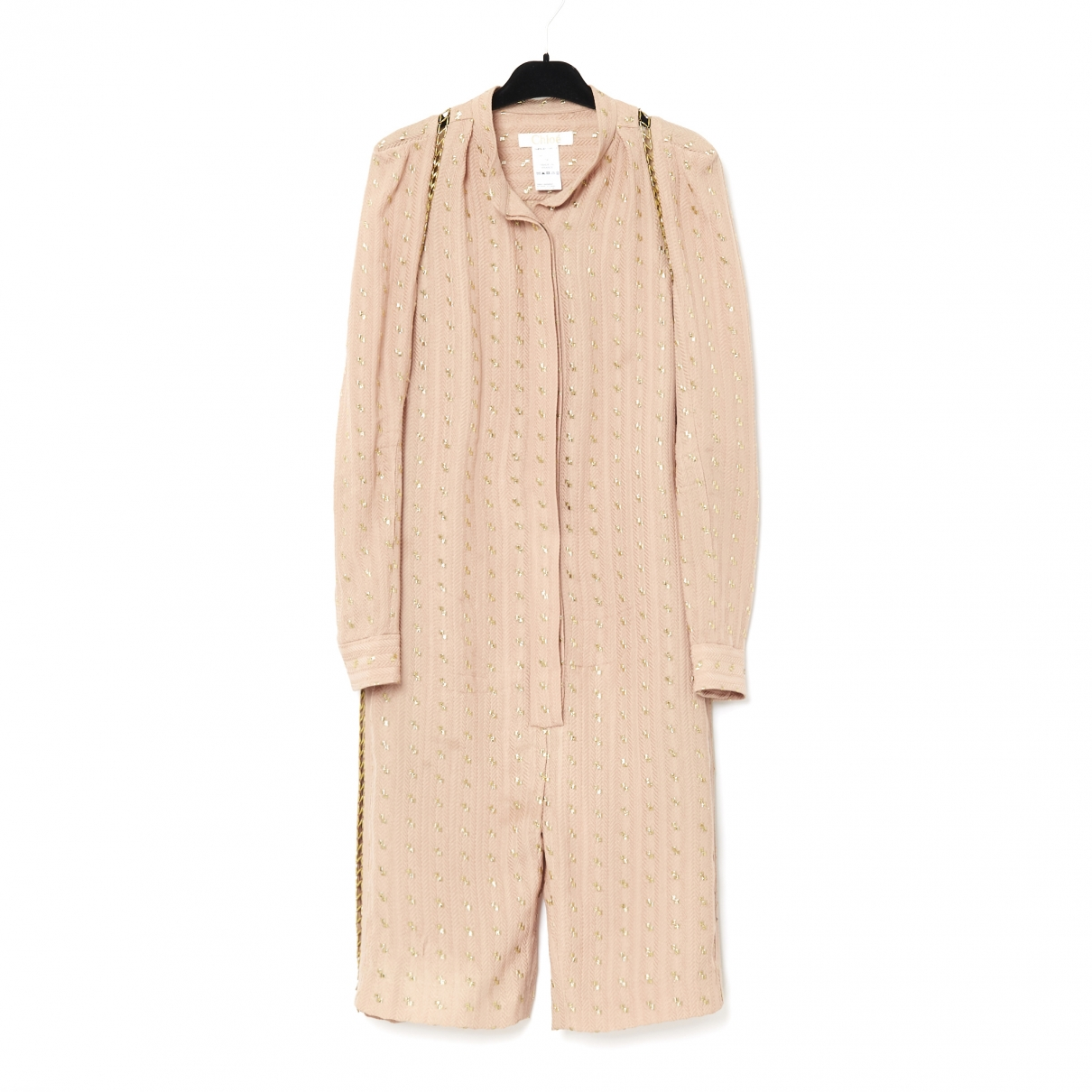 Chloé \N Pink Silk jumpsuit for Women 38 FR