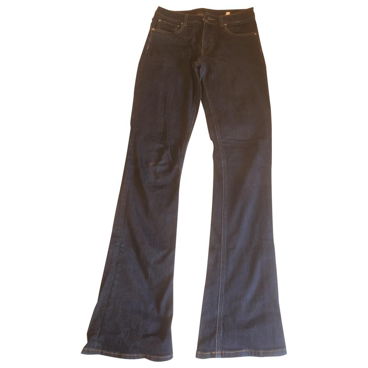 Prada \N Blue Denim - Jeans Jeans for Women 26 US