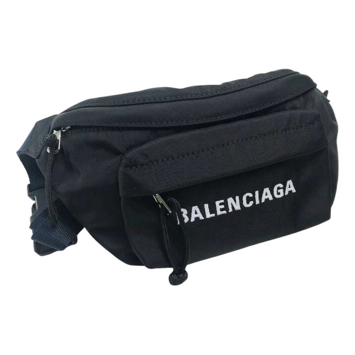 Balenciaga - Pochette   pour femme en toile - noir