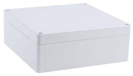 Hammond 1554, Grey ABS Enclosure, IP66, 160 x 160 x 60.5mm