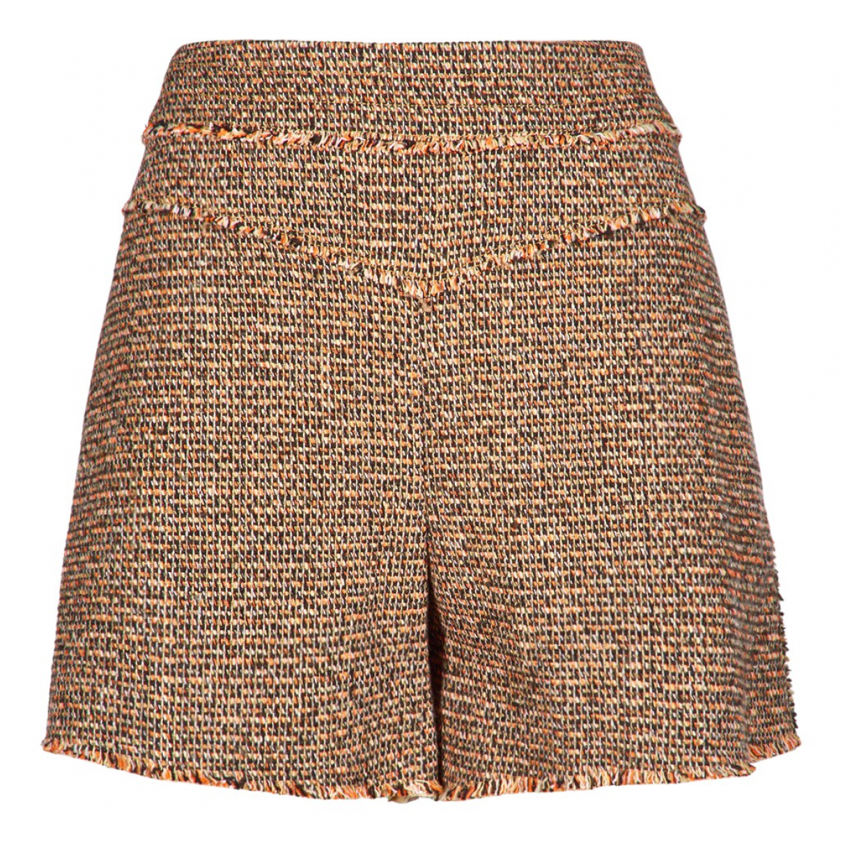Chloé N Multicolour Tweed Shorts for Women 14 UK