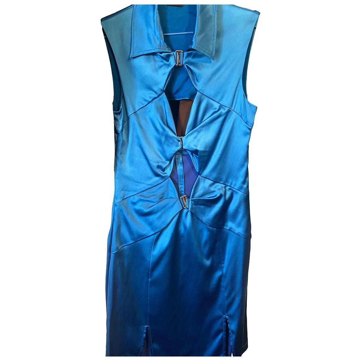 La Perla - Robe   pour femme en soie - bleu