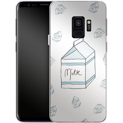Samsung Galaxy S9 Silikon Handyhuelle - Milk von caseable Designs