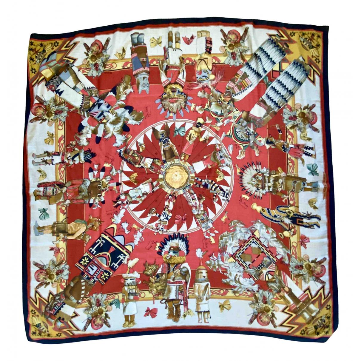 Hermès Carré Géant silk 140 Cashmere scarf for Women \N