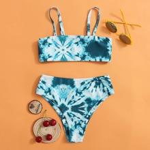 Bañador bikini de Tie Dye