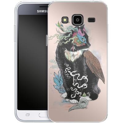 Samsung Galaxy J3 (2016) Silikon Handyhuelle - Black Magic von Mat Miller