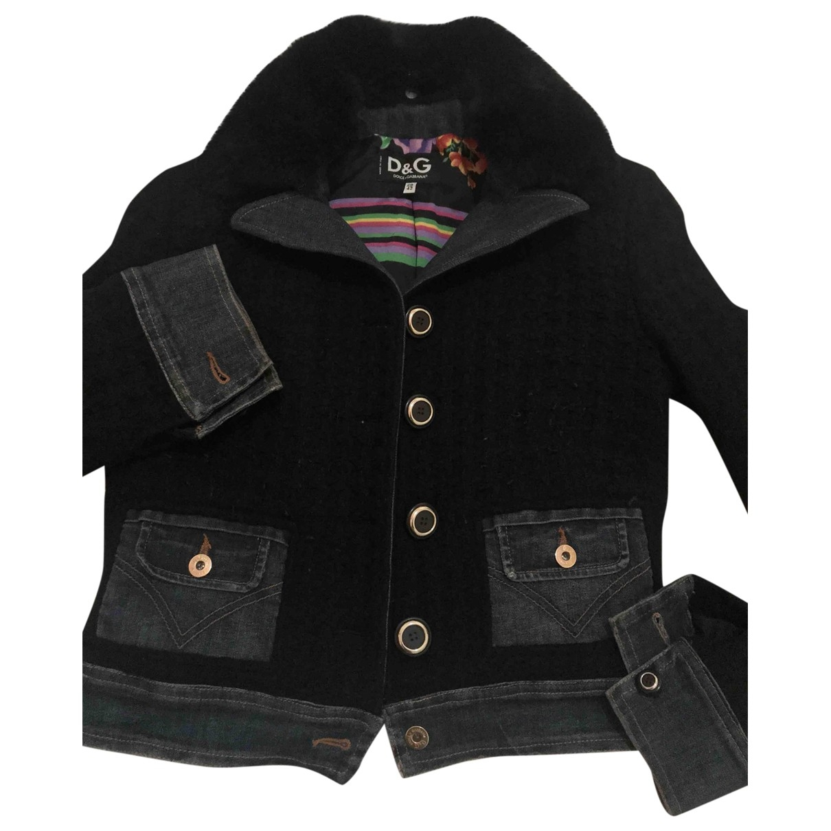 D&g - Veste   pour femme en laine - noir