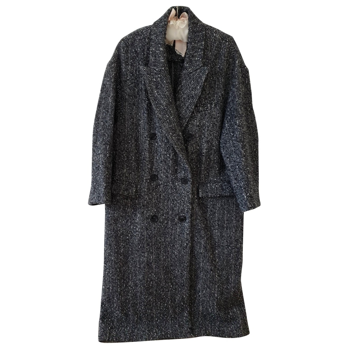 Isabel Marant \N Grey Wool coat for Women 36 FR