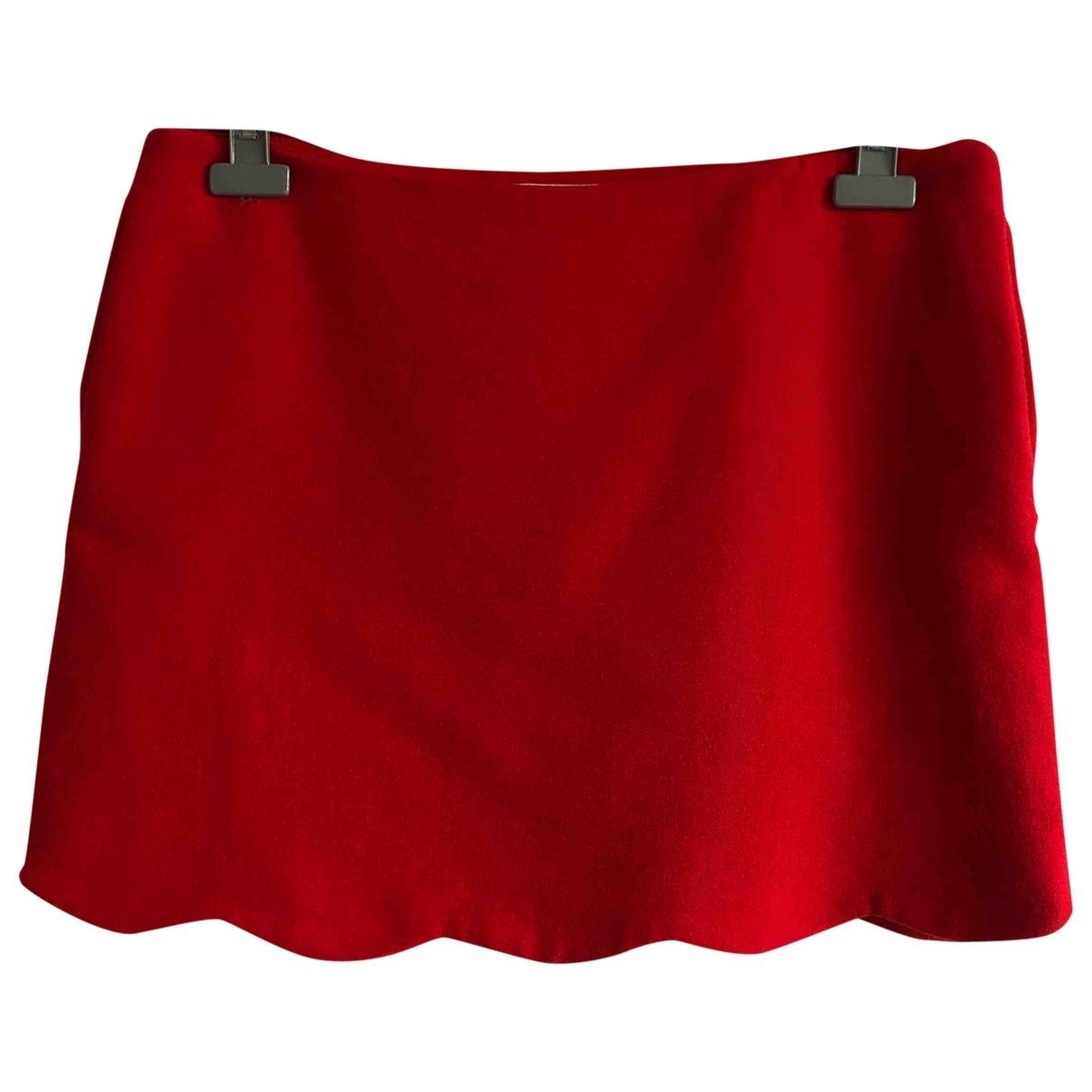 Red Valentino Garavani - Jupe   pour femme - rouge