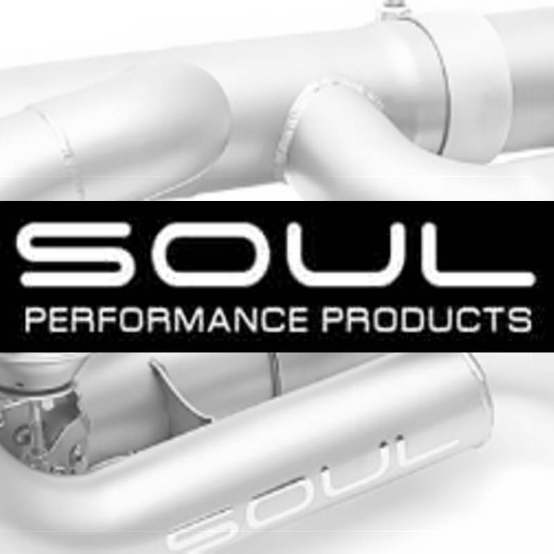 Soul Performance Competition X-Pipe Exhaust System with Race Pipes Reuse factory tips Porsche 997.1 Turbo 06-09