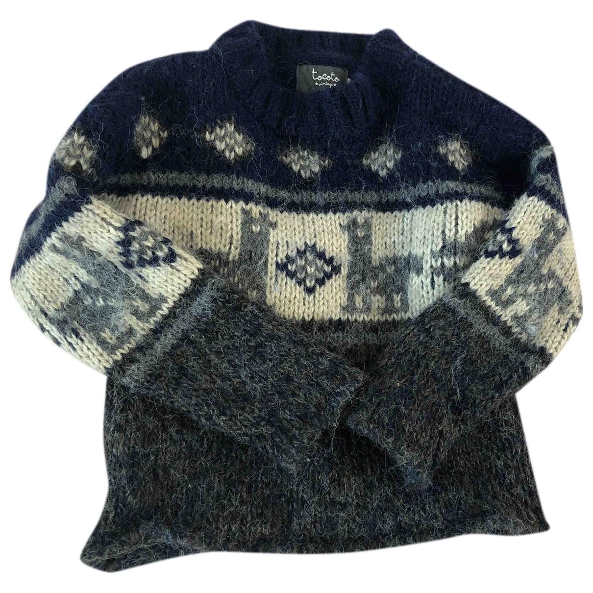Tocoto Vintage \N Pullover, StrickJacke in  Bunt Synthetik