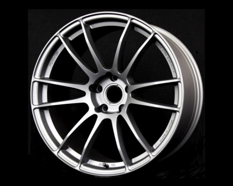 GramLights WGJ238ES 57Xtreme Wheel 19x8.5 5x114.3 38mm Sunlight Silver