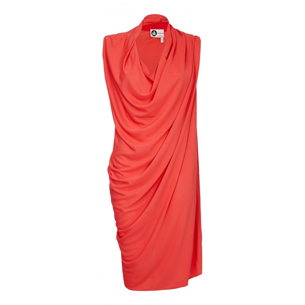 Lanvin N Red Cotton dress for Women 12 UK