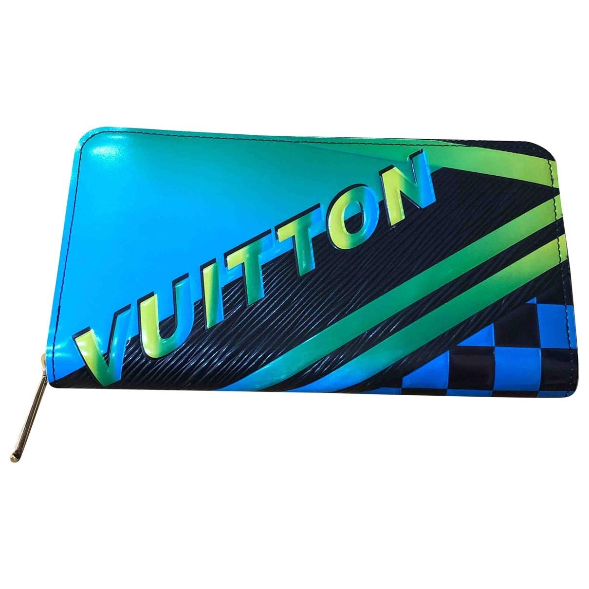 Louis Vuitton Zippy Portemonnaie in  Bunt Leder