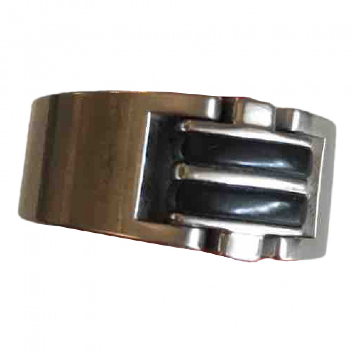 Non Signé / Unsigned \N Silver Steel Jewellery for Men \N