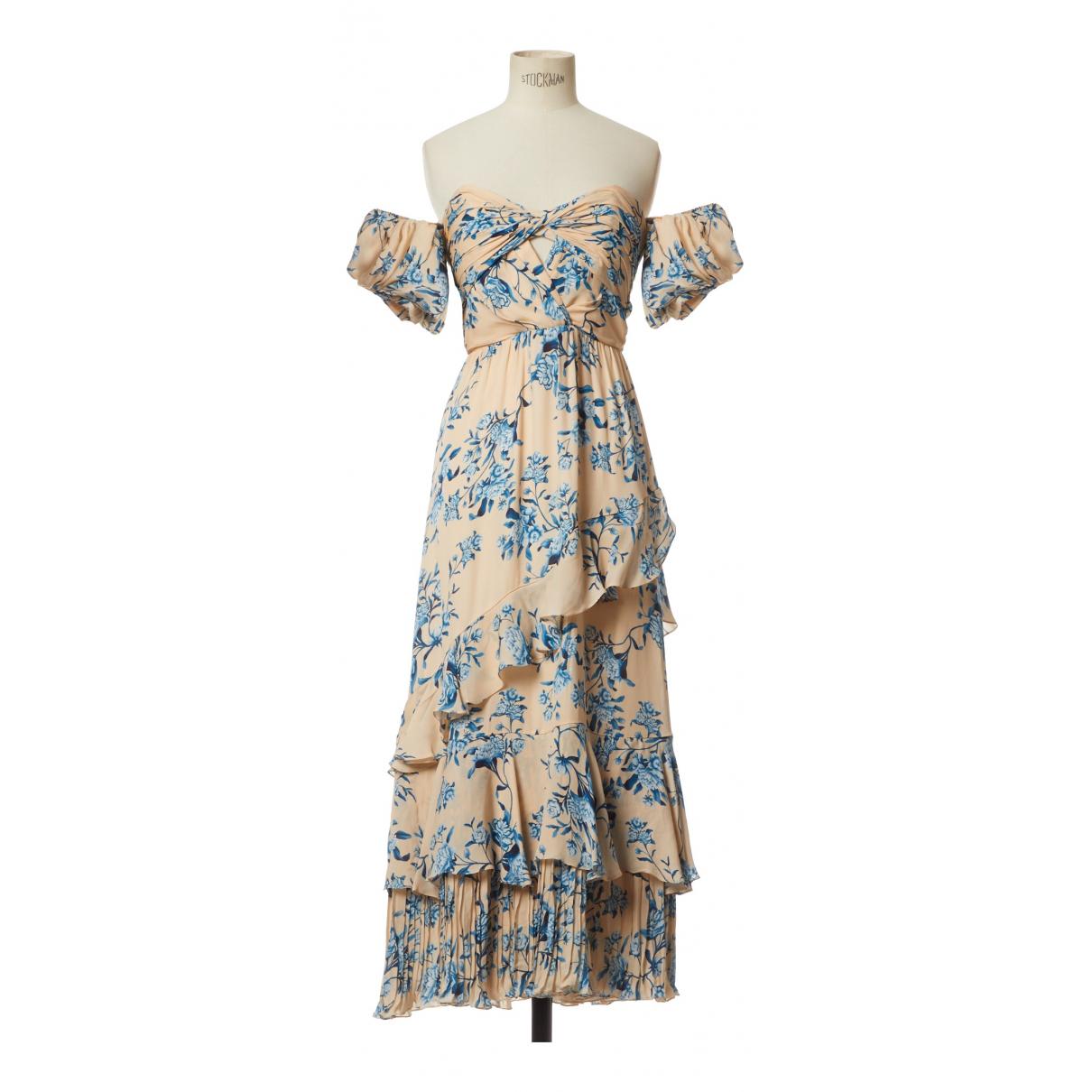 Maxi vestido de Seda Johanna Ortiz