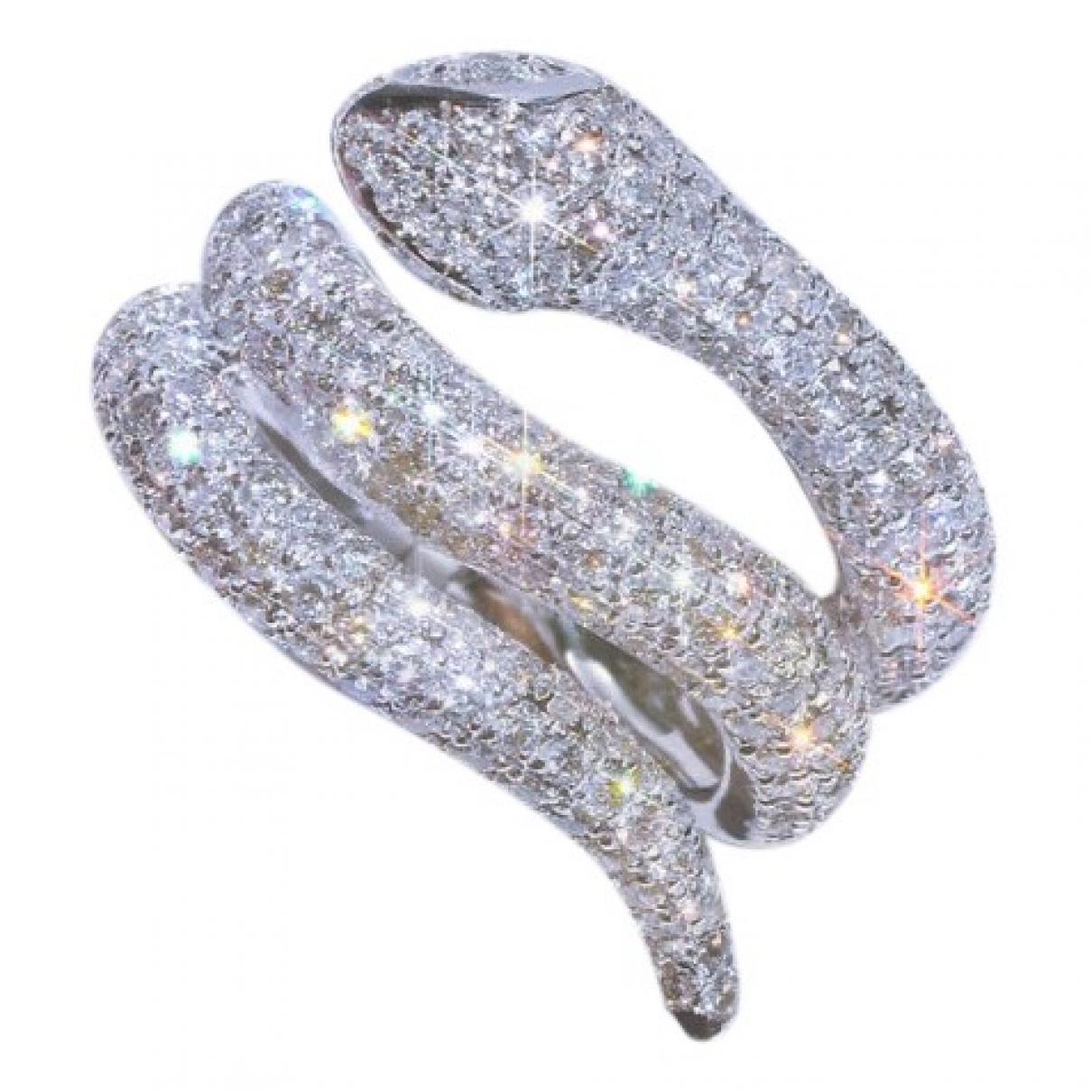 - Bague Motifs Animaliers pour femme en or blanc - argente