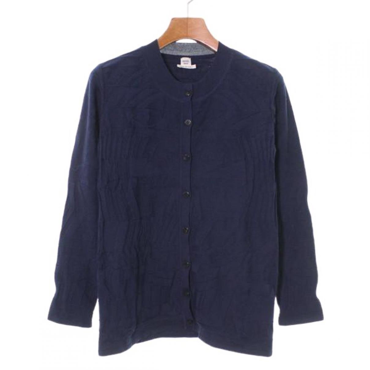 Hermes \N Pullover in  Blau Seide