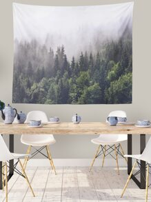 Forest Print Tapestry