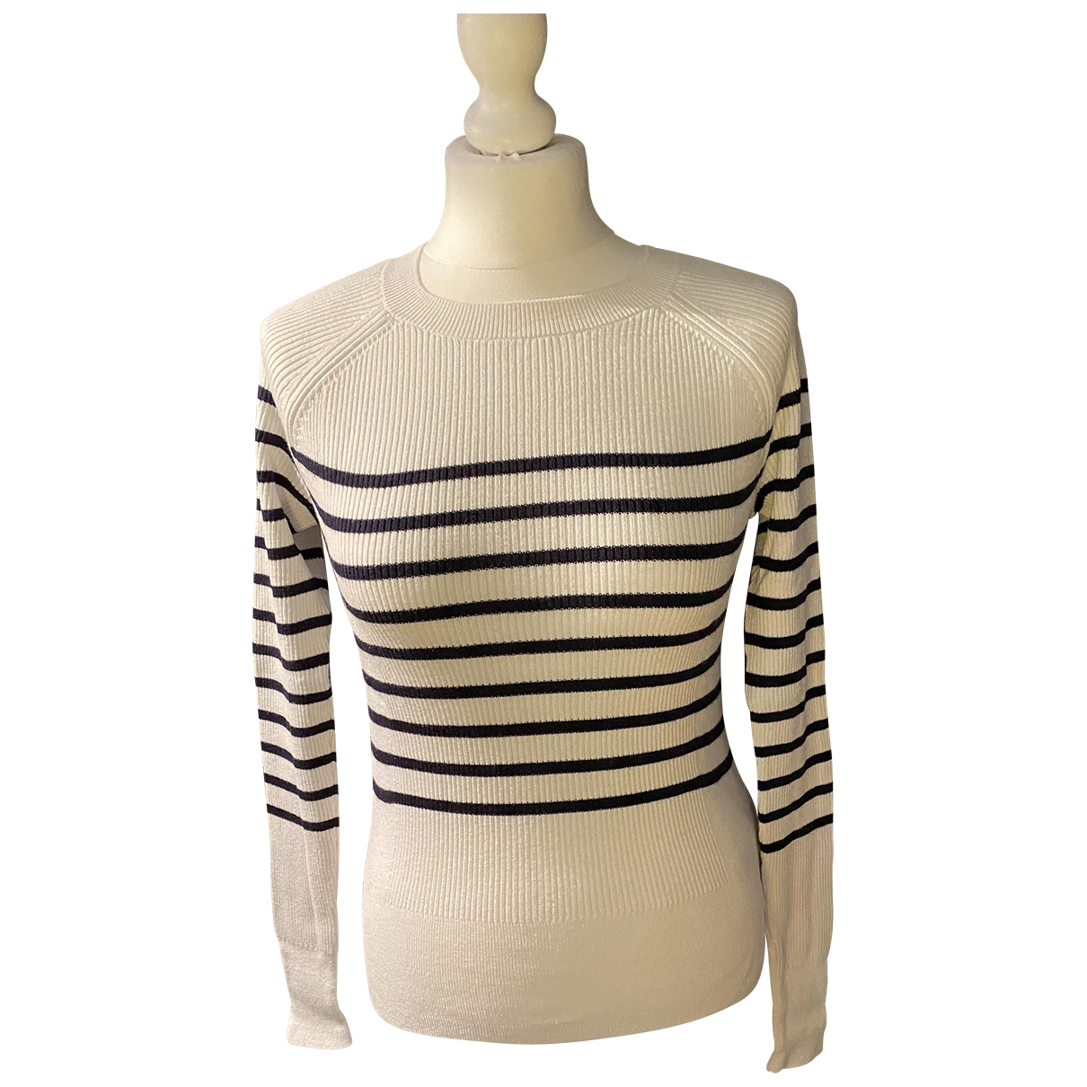 Abercrombie & Fitch \N Ecru Cotton Knitwear for Women L International