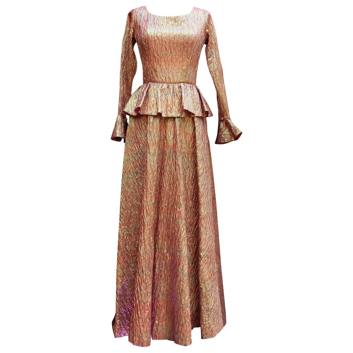 Maxi vestido Jean Patou