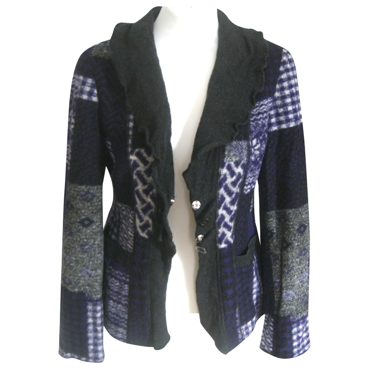 Weber - Veste   pour femme en laine - multicolore