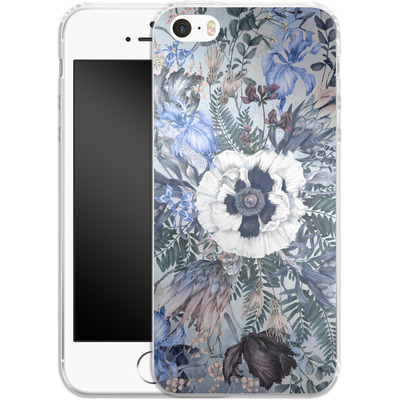 Apple iPhone 5s Silikon Handyhuelle - Frost von Stephanie Breeze