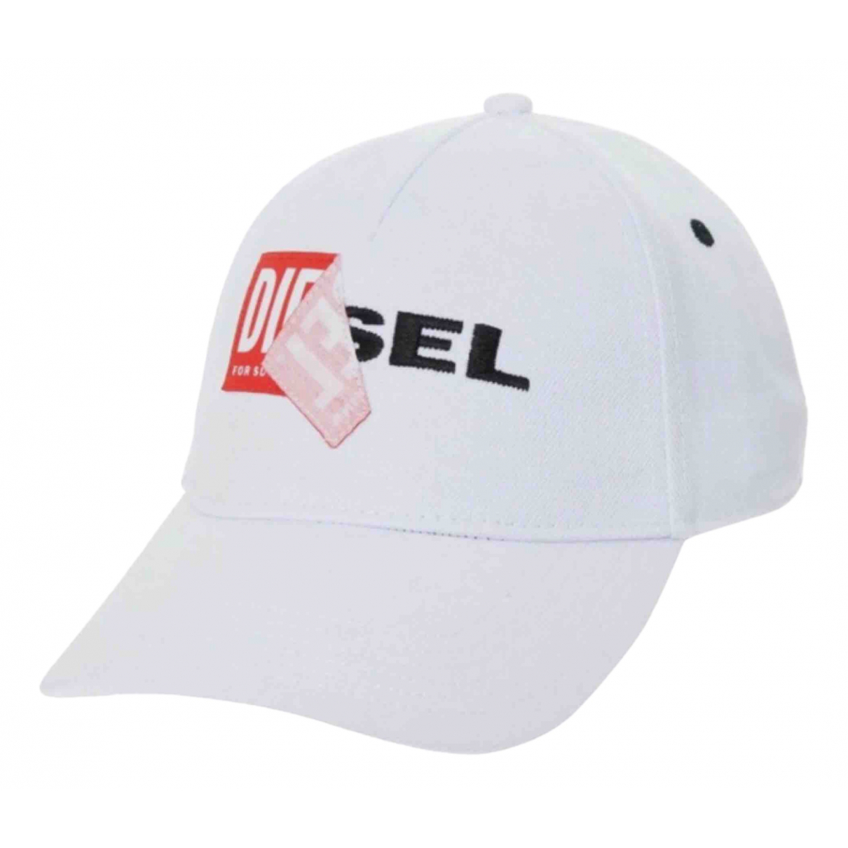 Diesel \N White Cotton hat for Women M International