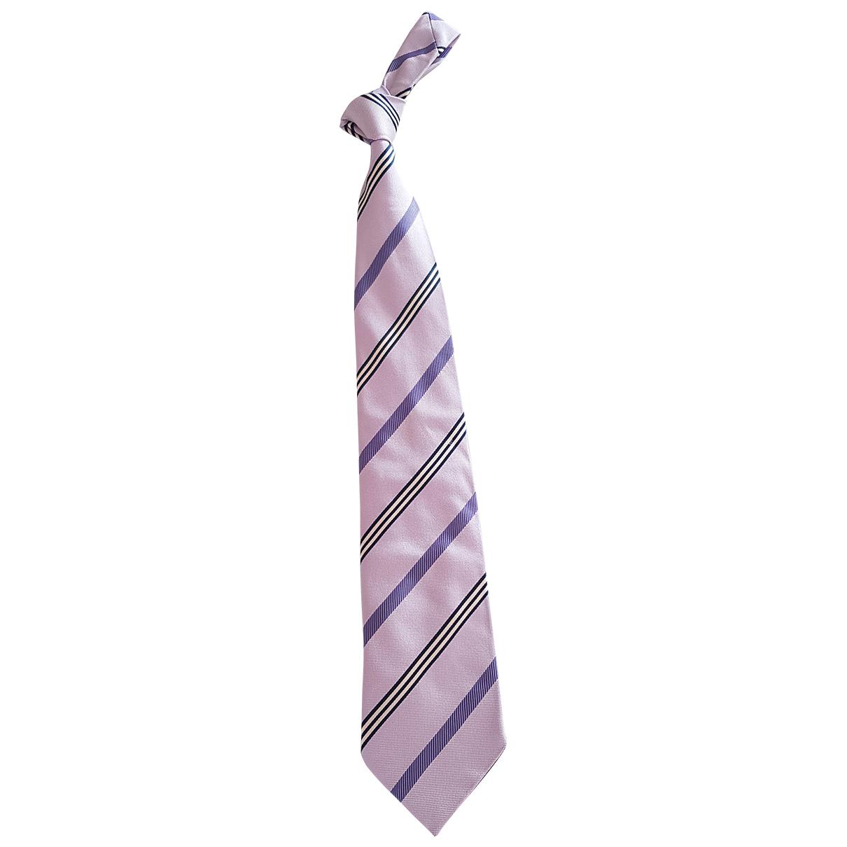 Pal Zileri \N Krawatten in  Lila Seide