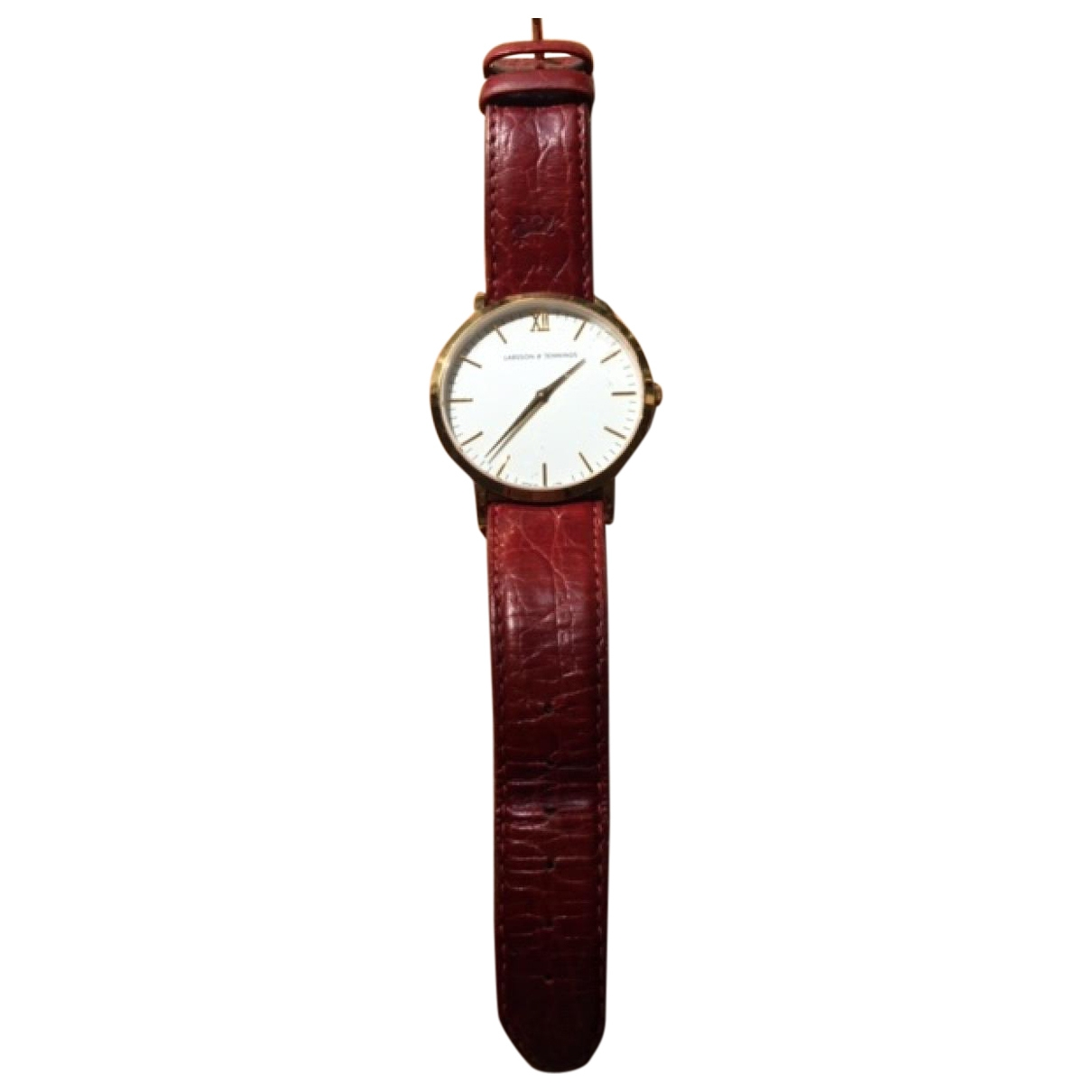 Larsson & Jennings \N Red Yellow gold watch for Women \N