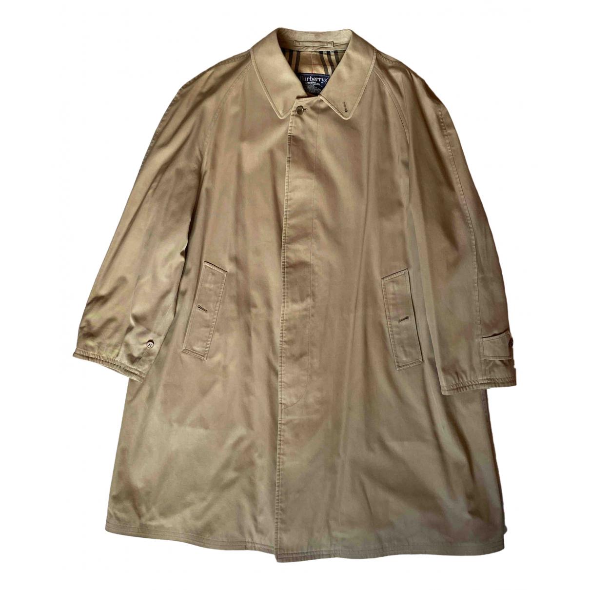 Burberry N Beige Cotton Trench coat for Women 44 IT