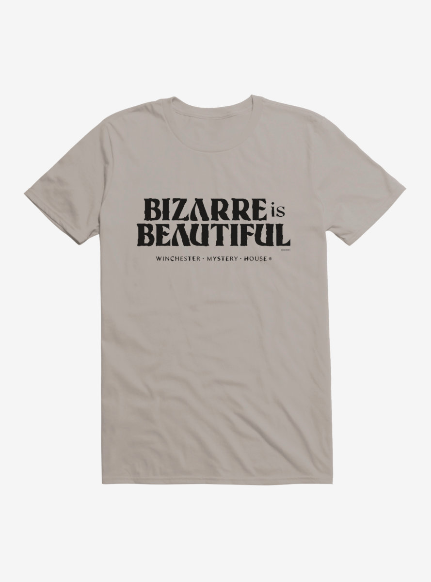 Winchester Mystery House Bizarre Is Beautiful Text T-Shirt
