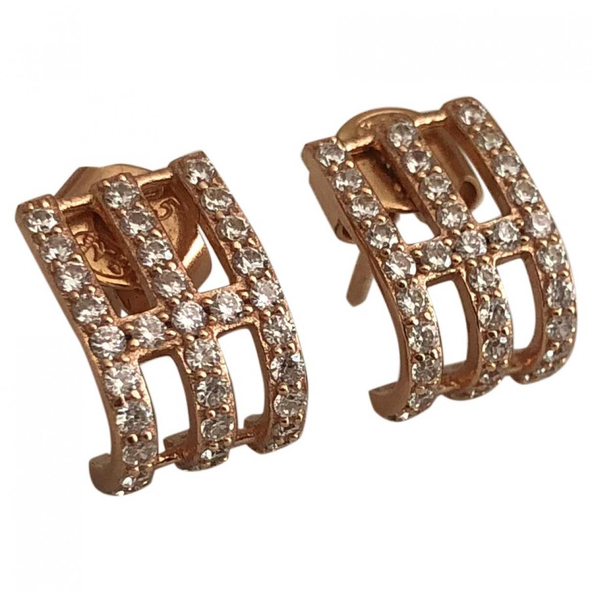 Apm Monaco \N Pink Silver Earrings for Women \N
