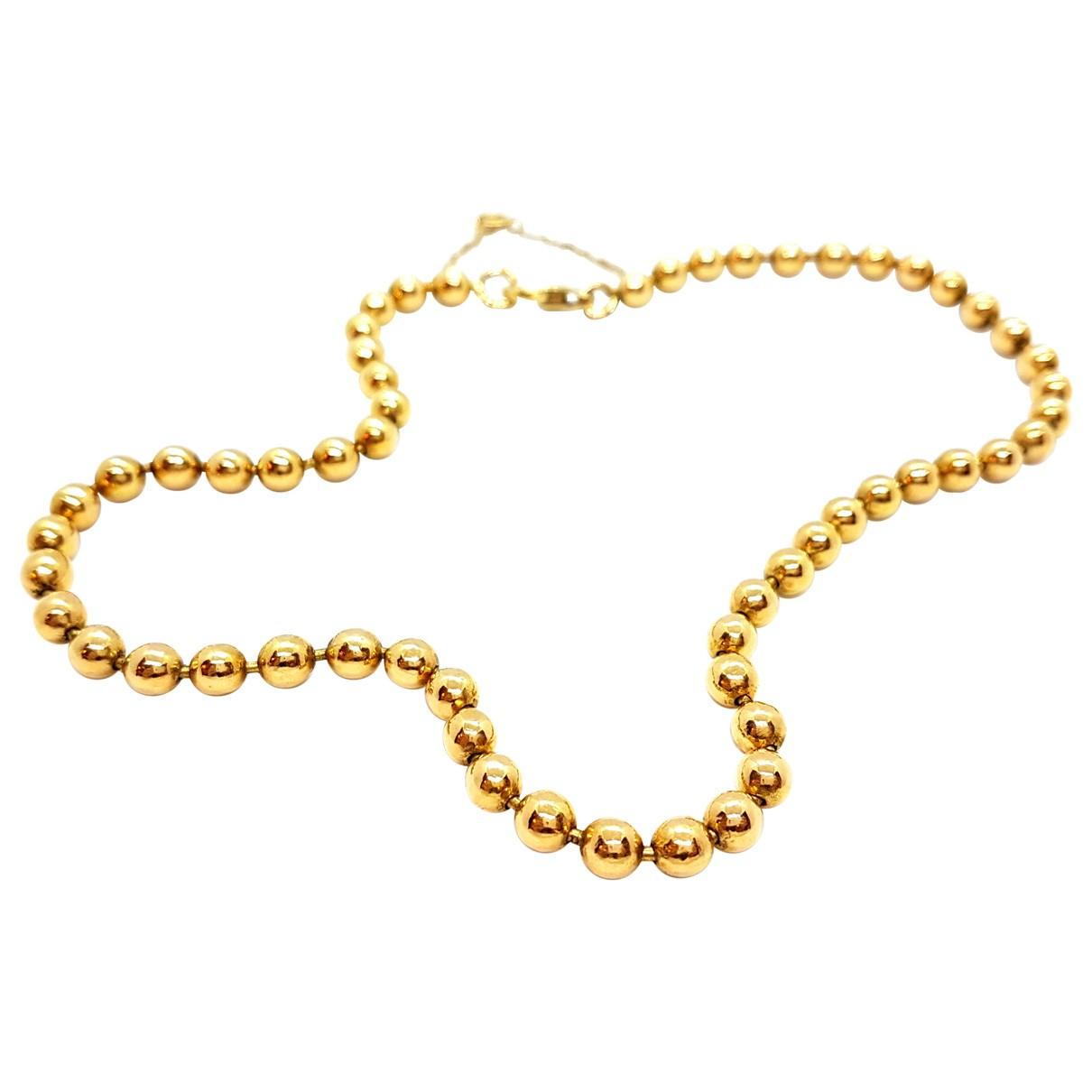 Autre Marque - Collier   pour femme en or jaune - dore