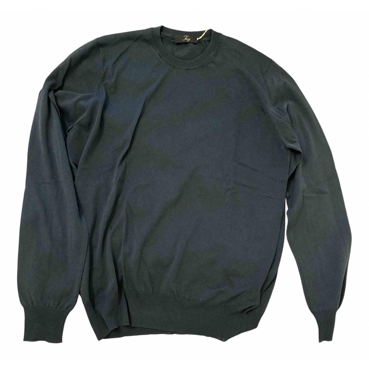 Fay \N Pullover.Westen.Sweatshirts  in  Blau Baumwolle
