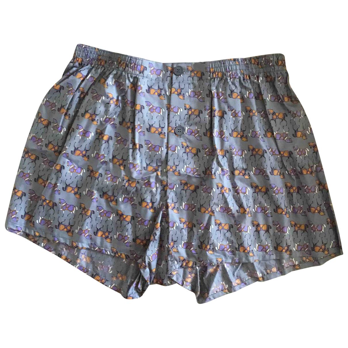 Yves Saint Laurent \N Shorts in  Bunt Baumwolle