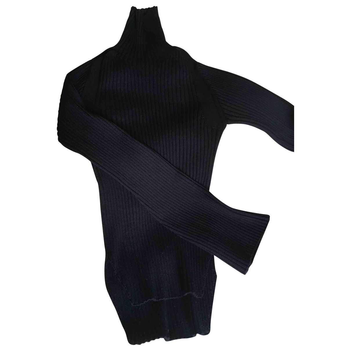 Adolfo Dominguez \N Pullover in  Marine Viskose
