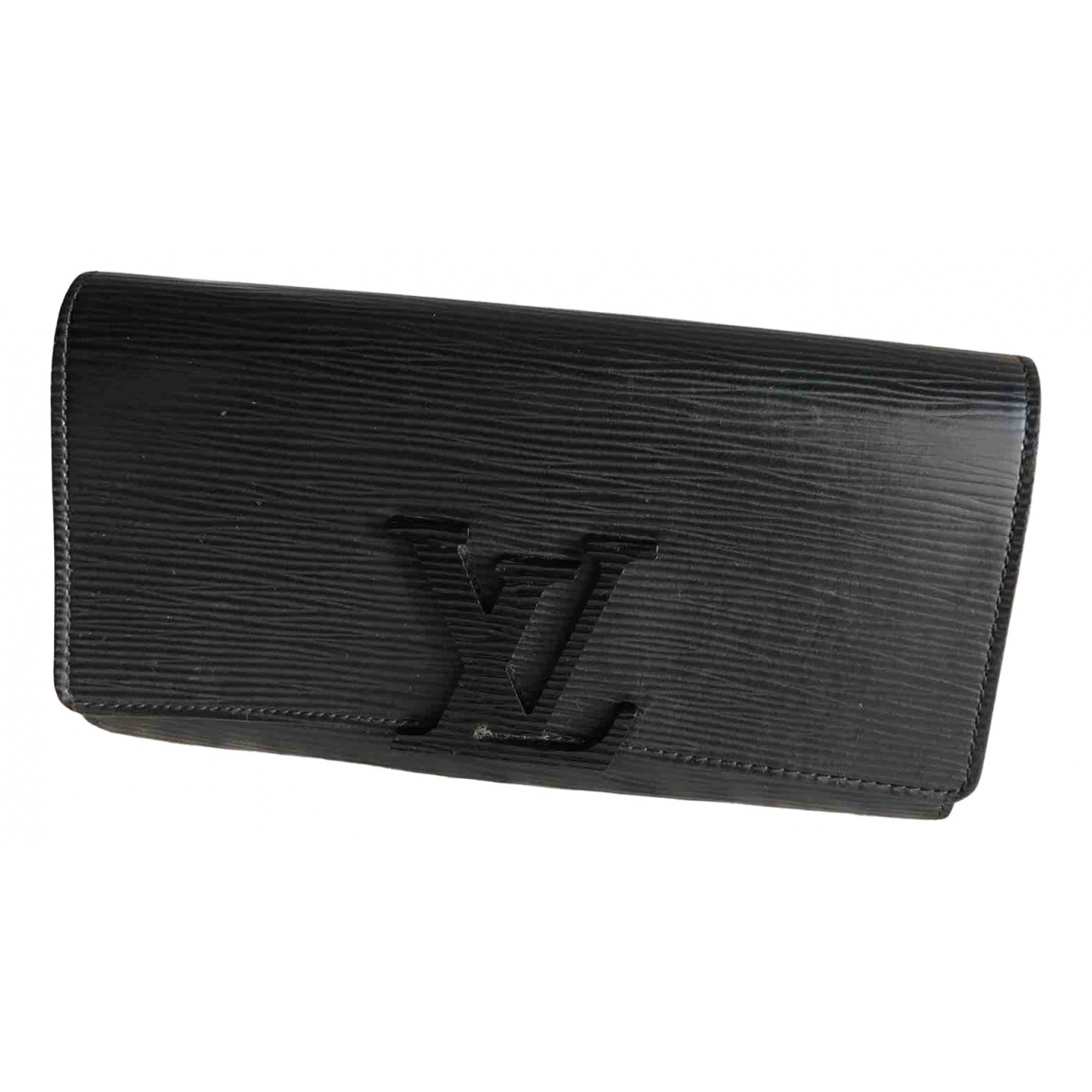 Louis Vuitton Louise Black Leather wallet for Women N