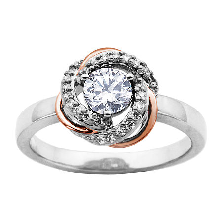 Sparkle Allure Cubic Zirconia Bronze Round Band, 9 , No Color Family