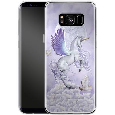 Samsung Galaxy S8 Silikon Handyhuelle - Moonshine von Selina Fenech
