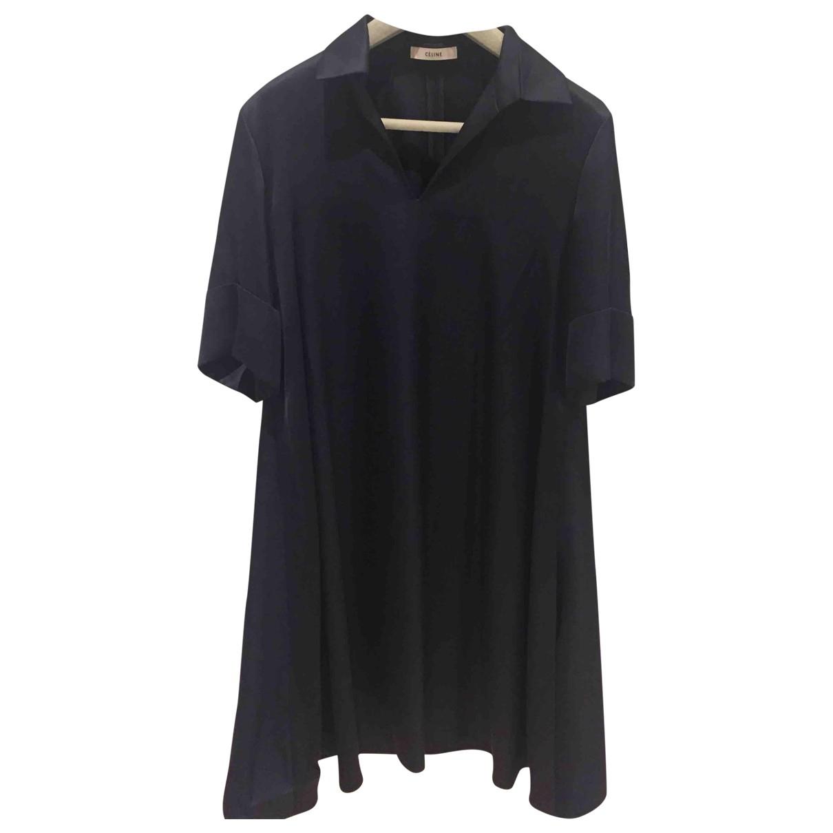 Celine \N Blue dress for Women 38 FR
