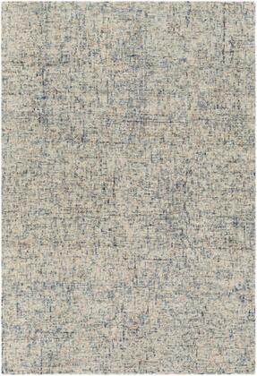 EIL2302-810 8' x 10' Rug  in Navy and Dark Brown and Bright Blue and Light Gray and Denim and