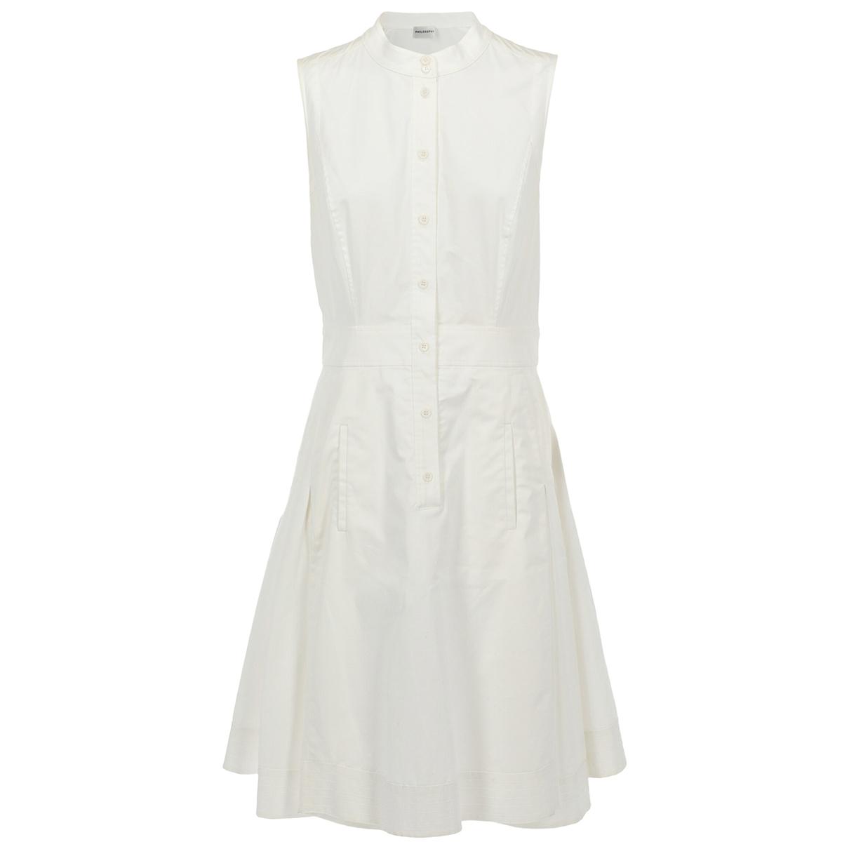 Philosophy H1h2 \N Kleid in  Weiss Baumwolle