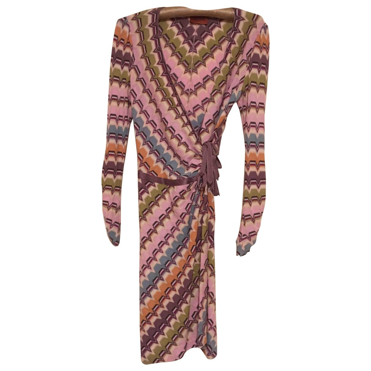 Missoni \N Multicolour Wool dress for Women 42 IT