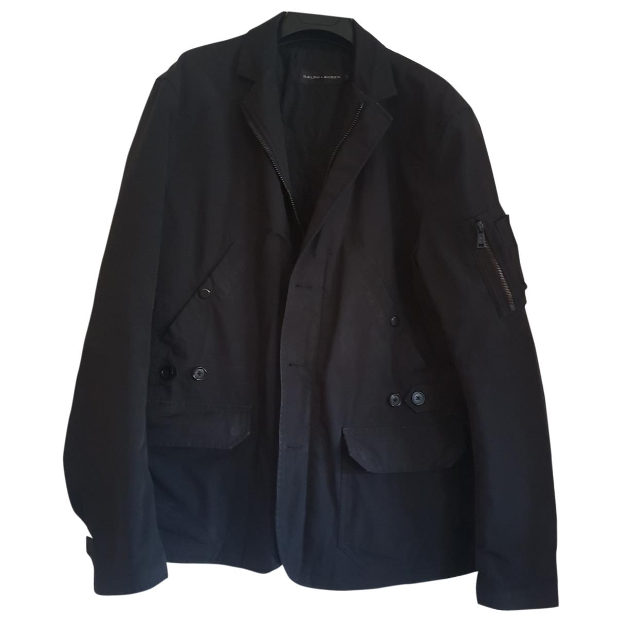 Ralph Lauren \N Black coat  for Men L International